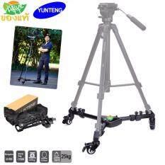 ราคา Yunteng Vct 901 Tripod Dolly แท้ ขาตั้งกล้อง ดอลลี่ ขาดอลลี่ ที่วางขาตั้งกล้อง ขาตั้งดอลลี่ ขาสไลด์กล้อง ใหม่
