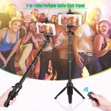 ขาย ซื้อ Yunteng Yt 9928 Handheld Tripod Monopod Selfie Stick W Bluetooth Remote Shutter ไม้เซลฟี่ ขาตั้ง พร้อมรีโมท Sec ใน กรุงเทพมหานคร