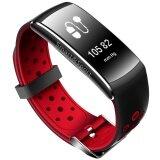 ราคา ราคาถูกที่สุด Z11 Wristband Heart Rate Blood Pressure Monitor Bluetooth Smart Watch Ip68 Water Proof Swimming Fitness Tracker For Android And Ios Phone Intl