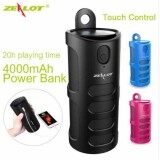 ซื้อ Free Usb Charger Zealot S8 Portable Wireless Bluetooth Speaker Touch Control Sport Bicycle Hifi Stereo Column Subwoofer Support Tf Card Aux ลำโพงบลูทูธ ลำโพงไร้สาย ใหม่