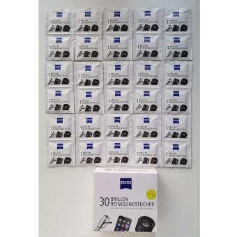 Zeiss กระดาษสำหรับเช็ดทำความสะอาดหน้าจอมือถือ / เลนส์กล้อง / แว่นตา  ยี่ห้อ Zeiss-Carl Zeiss เช็ดได้-