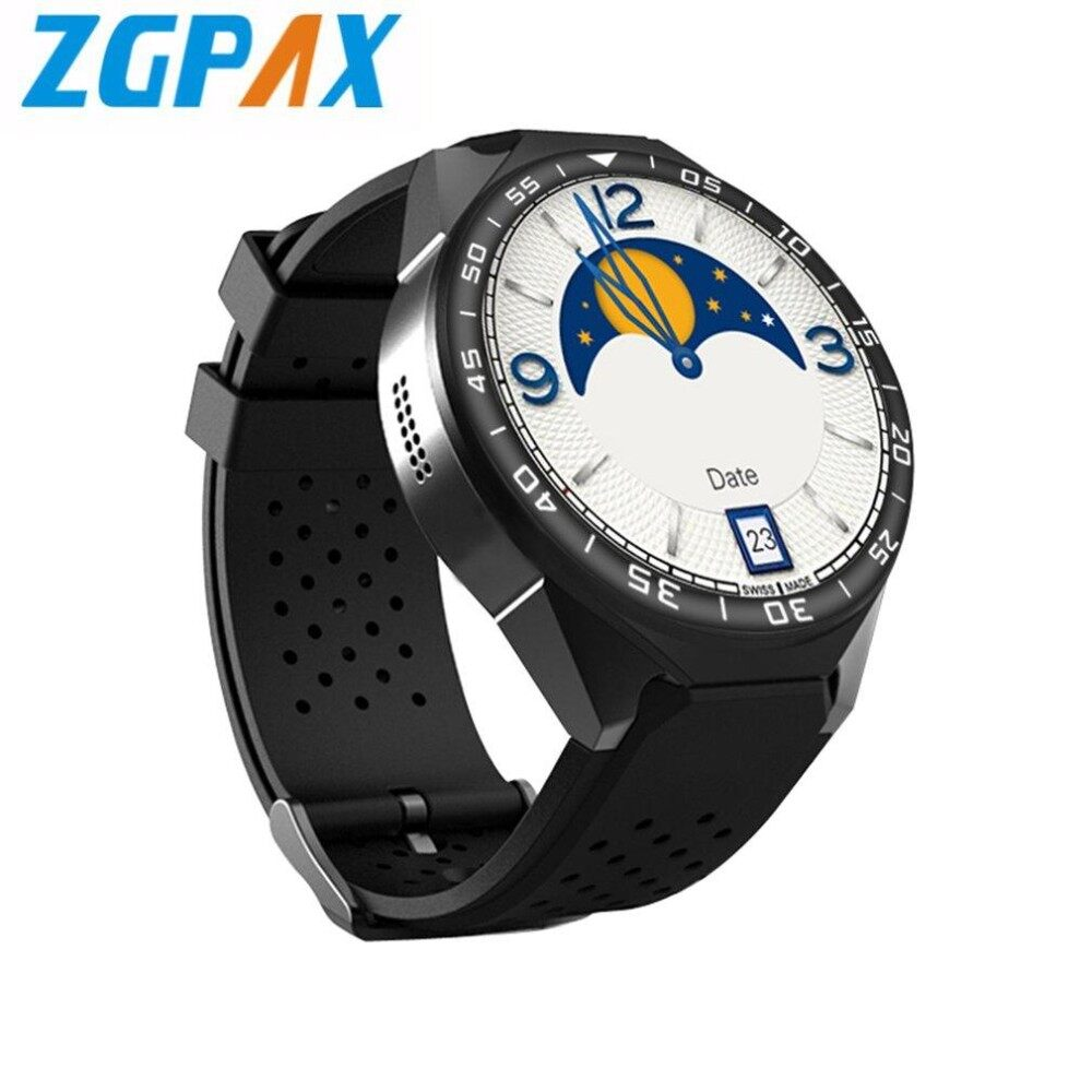 ZGPAX S99C Android V5.1 Smart Watch HD Touch Screen GPS Phone Watch Pedometer