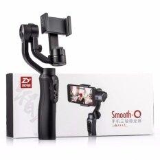 ราคา Zhiyun Smooth Q 3 Axis Handheld Gimbal Stabilizer ไม้กันสั่นสำหรับสมาร์ทโฟน รับประกัน 1 ปี ใหม่ ถูก