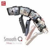ราคา Zhiyun Smooth Q 3 Axis Handheld Gimbal Stabilizer For Smartphone Like Iphone 7 Plus 6 Plus Samsung Galaxy S7 S6 S5 Wireless Control Vertical Shooting Panorama Mode Black ไทย