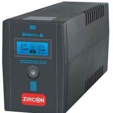 Zircon เครื่องสำรองไฟ รุ่น Smooth-A 1000VA 550W
