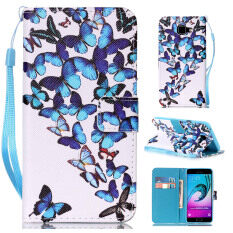 THB 210. Zoeirc Colorful Pattern Protective Stand Wallet Purse Credit Card ID Holders Magnetic Flip Folio TPU Soft Bumper PU Leather ...