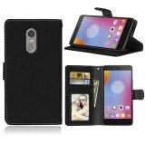 ขาย Zoeirc Fashion Protective Stand Wallet Purse Credit Card Id Holders Magnetic Flip Folio Tpu Soft Bumper Leather Case Cover For Lenovo K6 Note K6 Plus Intl