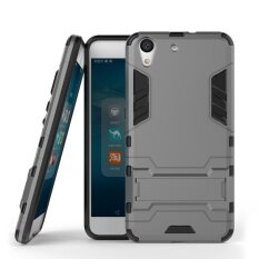 ส่วนลด Zoeirc Hybrid Kickstand Rugged Rubber Armor Hard Pc Tpu 2 In 1 With Stand Function Cover Cases For Huawei Honor 5A Y6 Ii Intl Zoeirc จีน