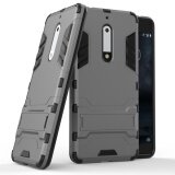ส่วนลด Zoeirc Hybrid Kickstand Rugged Rubber Armor Hard Pc Tpu 2 In 1 With Stand Function Cover Cases For Nokia 5 Intl จีน