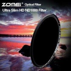 ซื้อ Zomei Ultra Slim Hd 18 Layer Nd1000 Super Mc Glass Pro Density Neutral Filter For Canon Nikon Sony Lens 82Mm Intl ออนไลน์