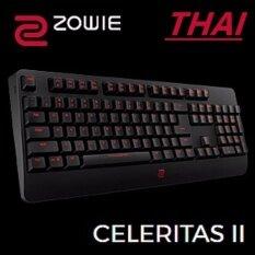 ZOWIE GEAR CELERITAS II Mechanical Gaming Keyboard w. RTR Technology KeyThai