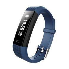 ราคา Zy68 Wristband Heart Health Monitor Smart Watches Bluetooth Pedometer Smart Band Ip67 Water Proof Bracelet Fitness Tracker Intl ที่สุด