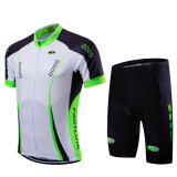 2016 Fastcute Brand Summer Quick Dry Short Sleeve Top And Shorts Cycling Jersey Bycicle Bike Breathable Wear Set Fc 0110 ถูก
