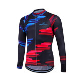 ทบทวน 2016 Fastcute Summer Long Sleeve Top Cycling Jersey Bycicle Bike Wear Fc 07