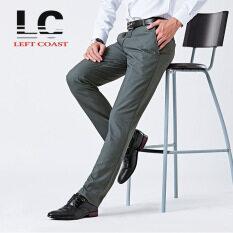 ส่วนลด 2016 ชายชุดกางเกงสำนักงานทำงานอย่างเป็นทางการกางเกงขายาวสีดำสบายๆกางเกงขายาว จีน