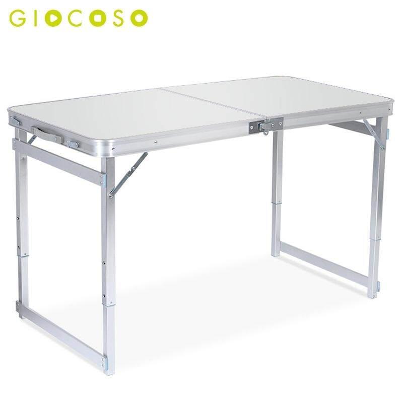 Giocoso โต๊ะปิคนิค โต๊ะสนาม Outdoor พับได้อลูมิเนียม 120x60x70 น้ำหนักรับได้ 70กก รุ่น T1 By Giocoso.