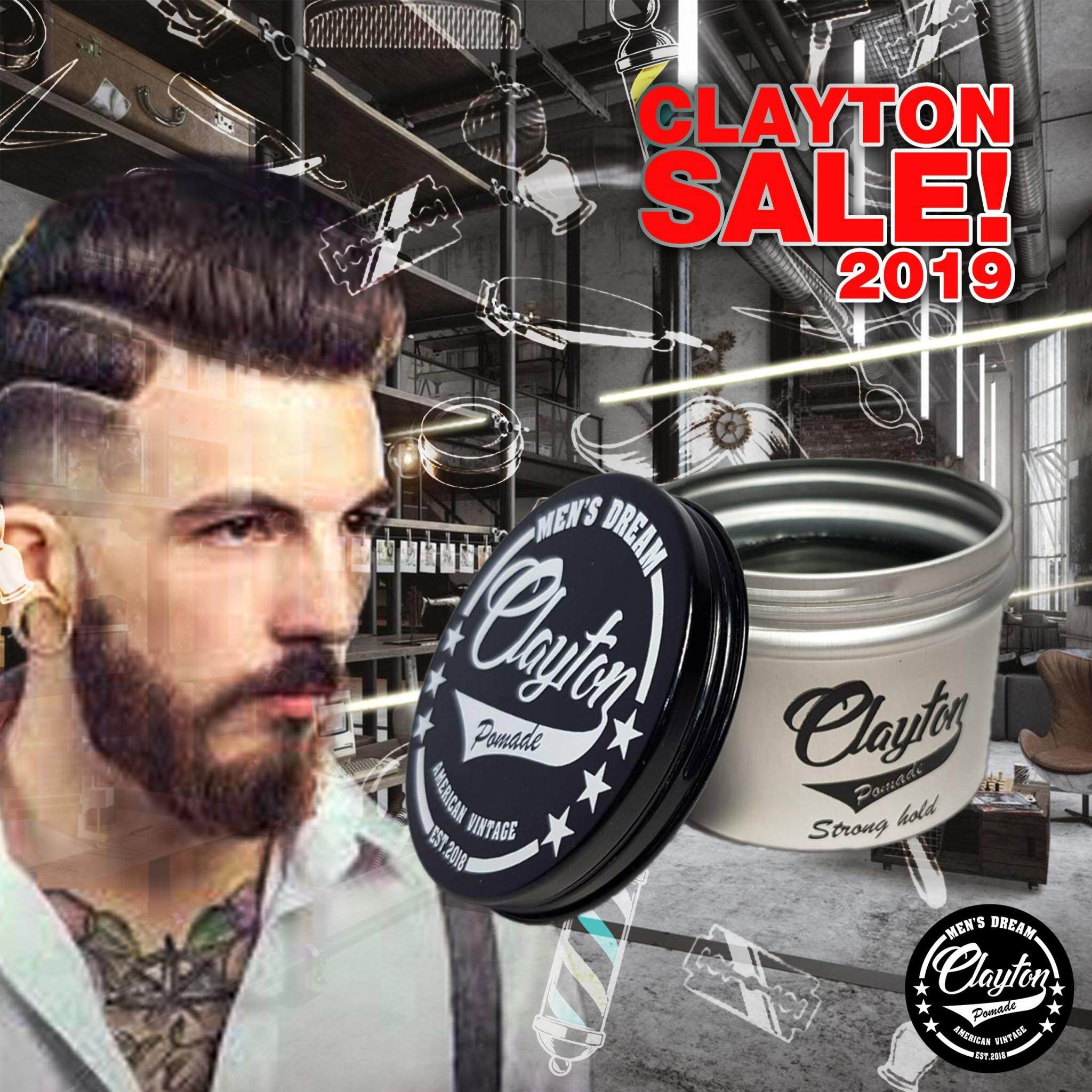 Clayton Pomade Sale.