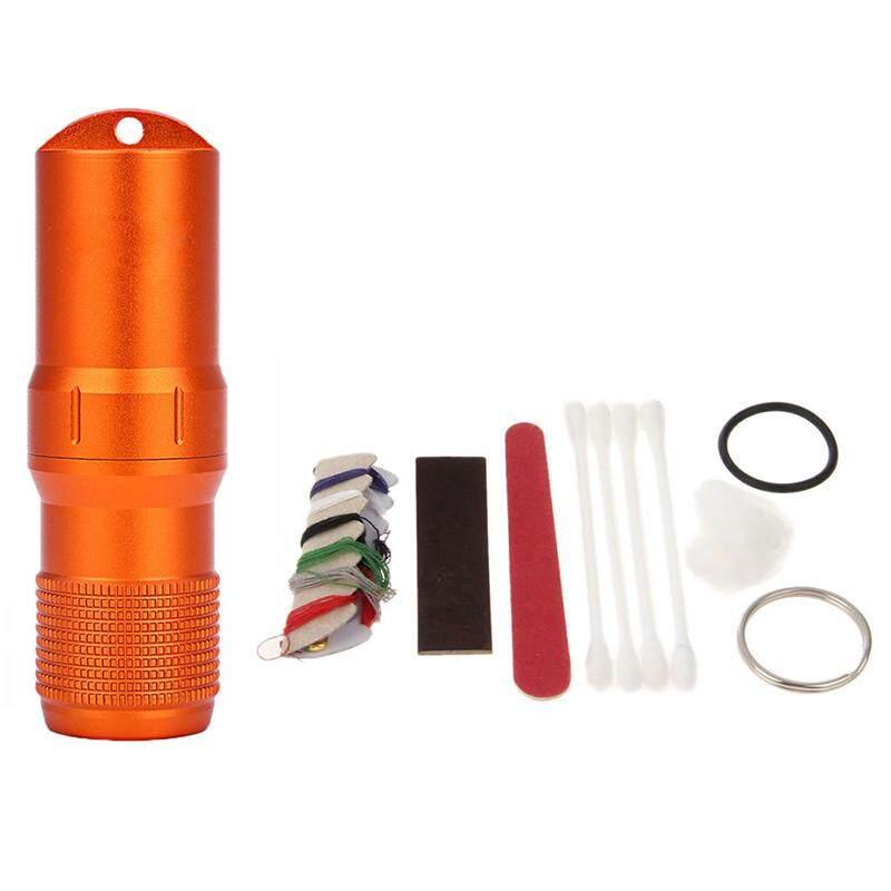 เครื่องมือฉุกเฉินชุดเดินทาง Edc กันน้ำ Survive ขวดแคปซูลกรณีซีลล็อคตู้คอนเทนเนอร์กลางแจ้งปีนเขาตั้งแคมป์ยา Match Pill - Intl By Household Tool Outlet.