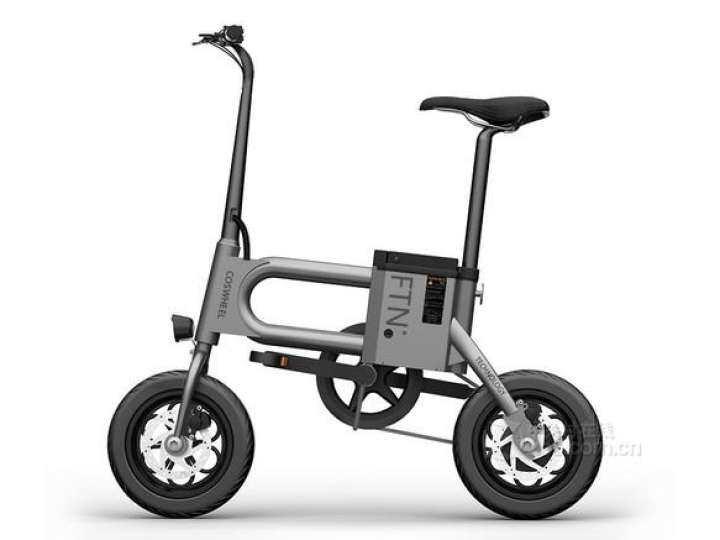 รถจักรยานไฟฟ้า COSWHEEL FTN T2 มอเตอร์ 350W พร้อมรีโมทกันขโมยและกุญแจล็อคแบตเตอรี่ อย่างละ2 ชุด รุ่นใหม่ล่าสุดทันสมัย