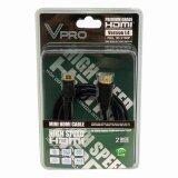 ซื้อ Vpro สาย Mini Hdmi Ver 1 4 ความยาว 2 เมตร Black ถูก