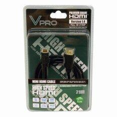 ขาย Vpro สาย Mini Hdmi Ver 1 4 ความยาว 2 เมตร Black กรุงเทพมหานคร