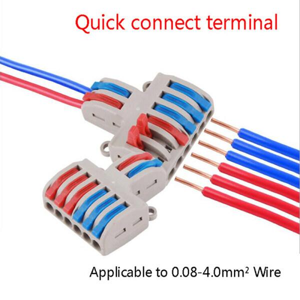Đầu nối dây cáp Pct-222 Spl-62, công suất 7kW, điện áp 250V/4kV, vỏ PC chống cháy, giá tốt - INTL
