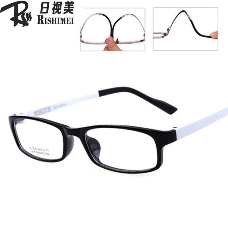 แฟชั่นแว่นคอมพิวเตอร์ Anti Blue Laser ความเมื่อยล้าแว่นตากันรังสีกรอบแว่นตา Ultem (pei) - ไทเทเนียมทังสเตนเหล็ก.