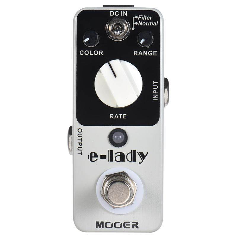 MOOER Guitar Pedal E-Lady Analog Flanger Guitar Effect Pedal 2 Modes True Bypass Full Metal Shell Guitar Parts and Accessories Malaysia