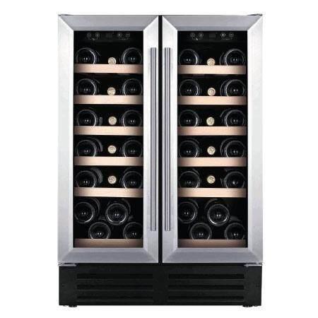 Temptech ตู้แช่ไวน์ รุ่น Classic Vwcr36ds – สีเงิน บรรจุ 38 ขวด By Temptech