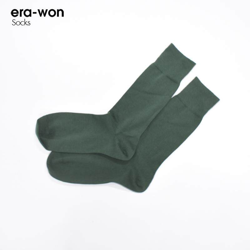 Era-Won ถุงเท้า Socks Anti-Bacterial สี Green.