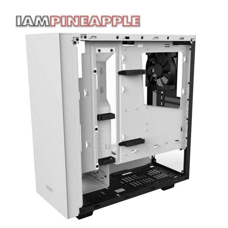 Nzxt Case S340 Elite Tempered Glass [white] By Jumroon.