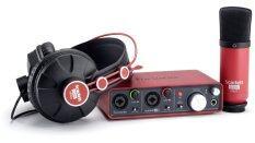 ส่วนลด Focusrite Scarlett Studio Black Red Focusrite
