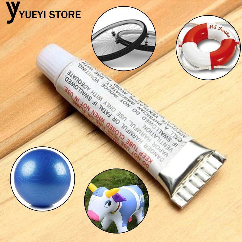 Swimming PVC Adhesive Inflatable Repair Glue Tube Patch Kit for Boat Yoga Ball
