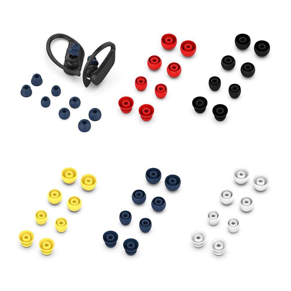 ใช้Beats Powerbeats Pro Powerbeats3 MagicหูฟังบลูทูธUniversalปลั๊�อุดหูCover08Pcsซิลิโคนขนาดเล็�นุ่มหูฟัง�บบIn-EarหูฟังEartipsสำหรับPowerbeats Pro-3