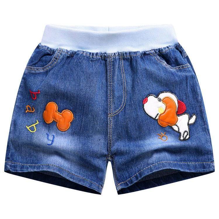 เด็กผู้ชายกางเกงขาสั้นผ้าเดนิมหลายรูปแบบมีสไตล์และรูปหล่อ(boys Shorts, Denim, Many Styles, Stylish And Handsome) By Kids-Shop.