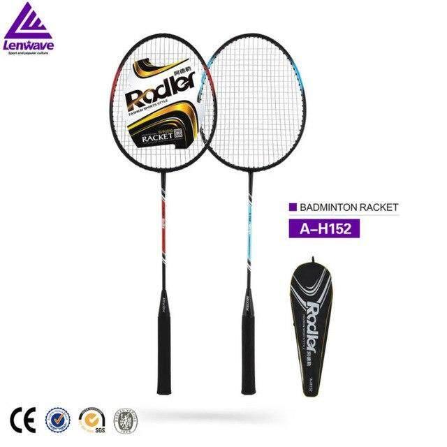 Rodler ชุดไม้แบด ไม้แบดมินตัน 1 คู่ Badminton Racket Streel (xb-599) รุ่น A-151 By Qq1212.