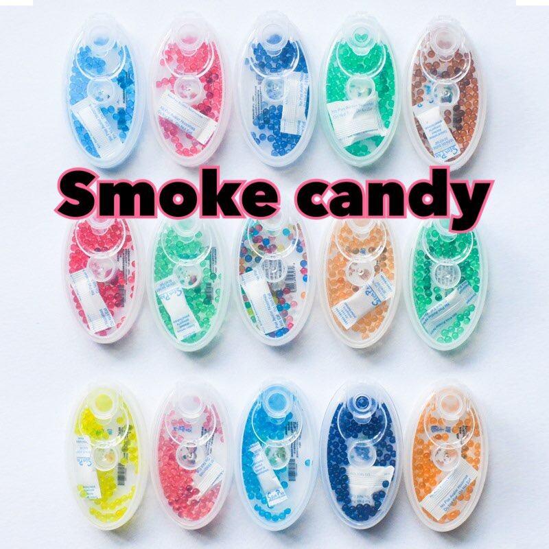 Smoke Candy เม็ดบีบใส่แมส เม็ดบีบแมส เม็ดบีบหน้ากากอนามัย เม็ดบีบ เม็ดบีบหอม สดชื่น 1 กล่อง 100 เม็ด พร้อมส่ง!!.