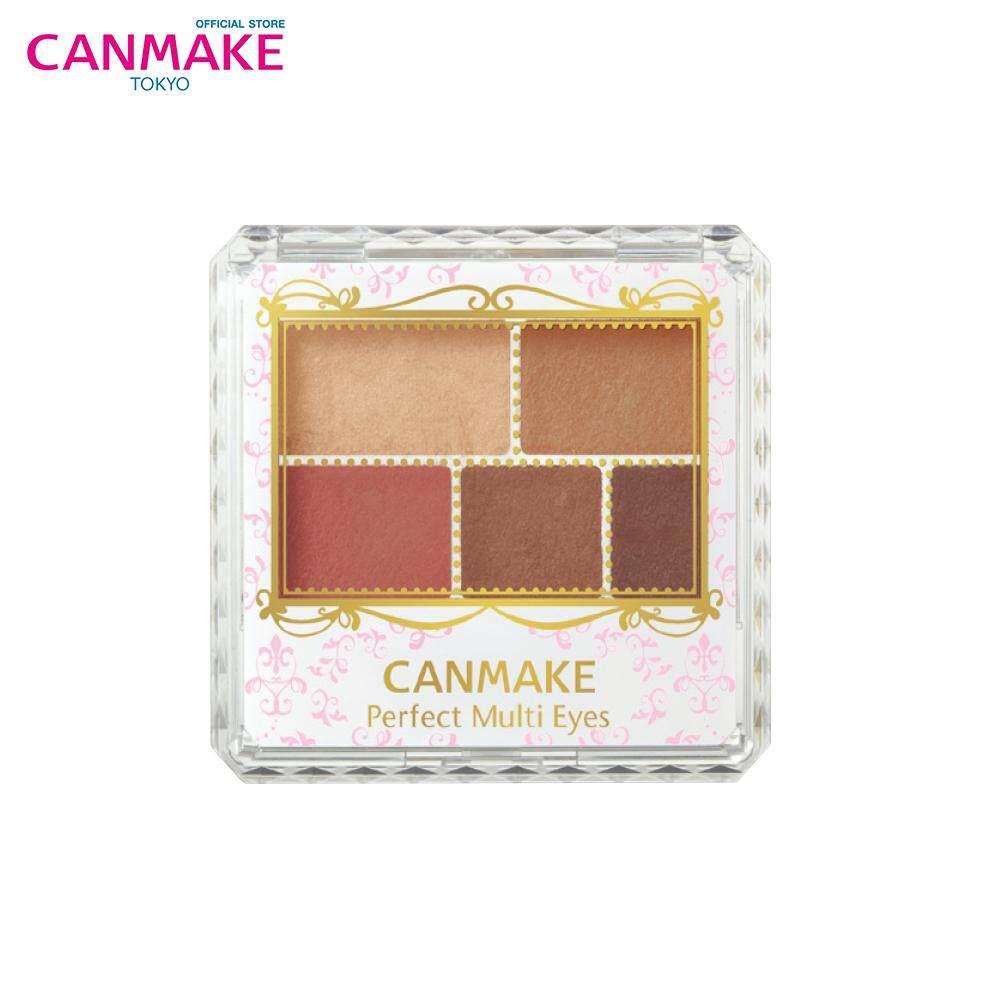 Canmake Perfect Multi Eyes พาเลตต์อายแชโดว์เนื้อแมทท์ 5 เฉดสี (3.3g)