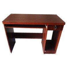 Tgcf โต๊ะทำงาน 100E ซม สีสัก เป็นต้นฉบับ