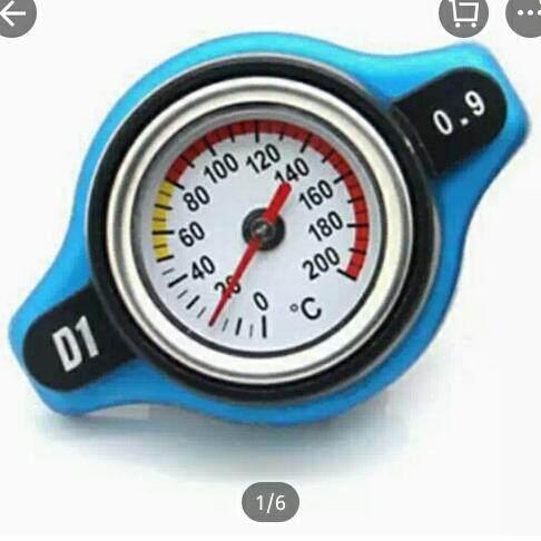 ฝาหม้อน้ำพร้อมเกวัดอุณหภูมิ ความดัน 0.9 บาร์ By Lita-Shop.
