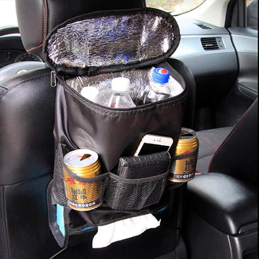 รถกระเป๋าเก็บสัมภาระในรถยนต์กระเป๋าจัดระเบียบของใช้ทารกฉนวนเครื่องดื่ม Cooler Travel กระเป๋าเก็บของ - Uv Rescure.