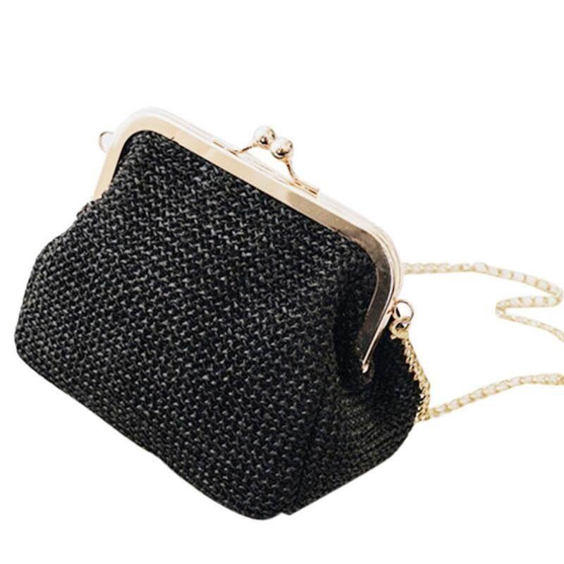 b8a5cec8f227c Small Crossbody Boho Bags For Women Evening Clutch Bags Hasp Ladies Handbag  Female Straw Beach Rattan Women Messenger Bag