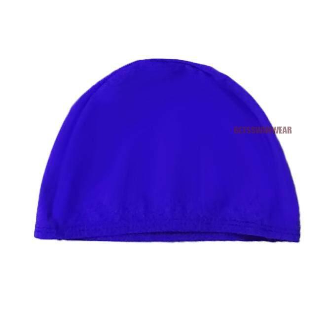 หมวกว่ายน้ำ สีพื้น