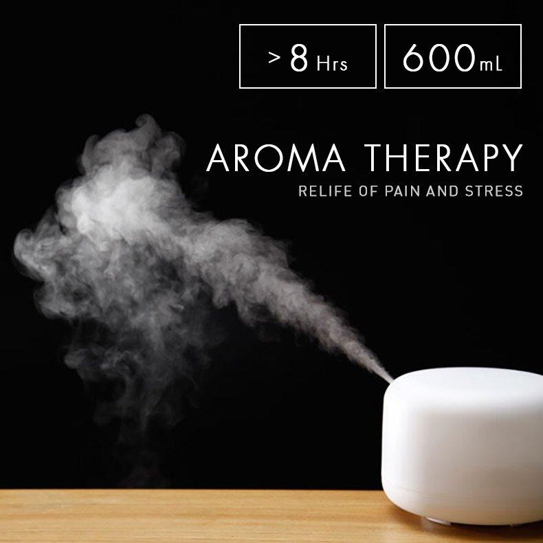 เครื่องพ่นไอน้ำอโรม่า Belamay Aroma Diffuser เพิ่มความชื้นและช่วยฆ่าเชื้อในอากาศ Humidifier ราคาดีสุดเครื่องแท้!!เครื่องพ่นน้ำมันหอมระเหย 500 Ml[allnice99].