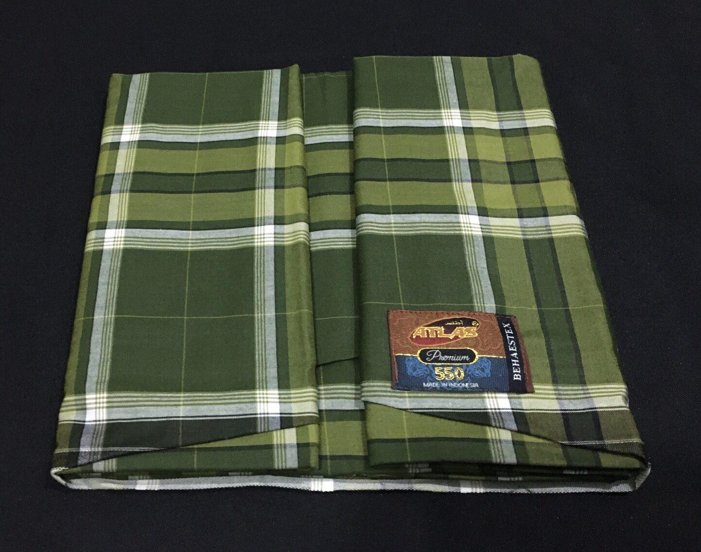 โสร่ง ผ้าถุงชาย ผ้านุ่งชาย เย็บแล้ว โสร่งอินโดแท้ ขนาด 200 x 128 ซม.