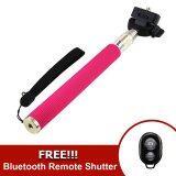 ซื้อ Monopod Selfie Handheld Z07 1 Pink Free Ab Bluetooth Shutter Black ถูก ใน Thailand