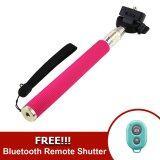 ขาย Monopod Selfie Handheld Z07 1 Pink Free Ab Bluetooth Shutter Blue ถูก