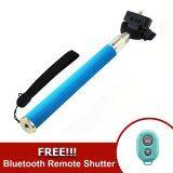 ขาย Monopod Selfie Handheld Z07 1 Blue Ab Bluetooth Shutter Blue Monopod เป็นต้นฉบับ