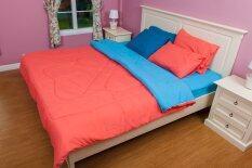 ส่วนลด สินค้า Cotton Soft ชุดผ้าปูที่นอน รุ่น Happy Mom 5 ฟุต 5 ชิ้น ผ้านวม