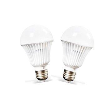 TURN ON ชุดหลอดไฟ LED ชนิดเกลียว E27 ขนาด 15 วัตต์ 2 หลอด (WarmWhite)